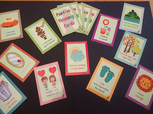 Positive Thinking/Positive Affirmation Cards