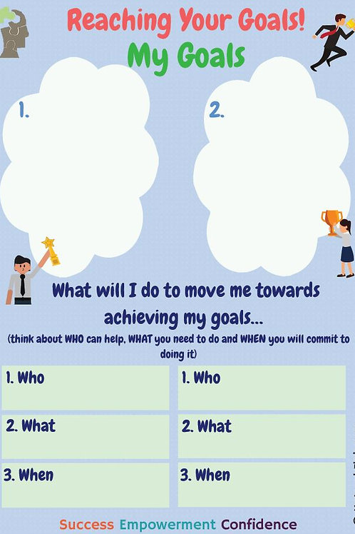 Reaching Your Goals Worksheet