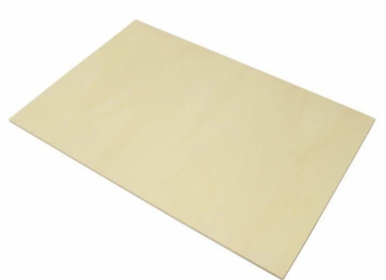 Poppelplywood 3 mm, 50 st