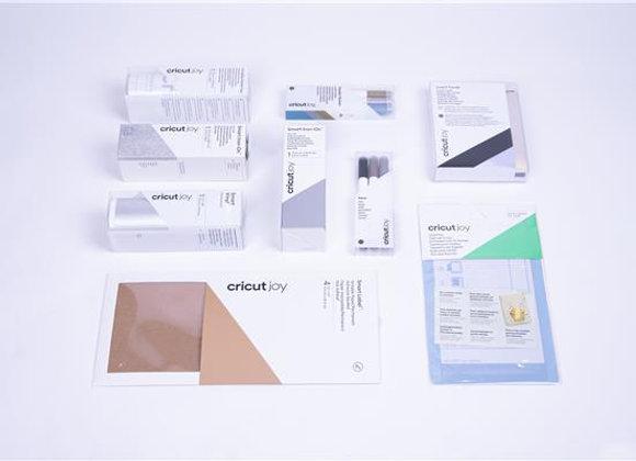 Cricut Start2Cricut Joy box (4 SmartMaterials + Transfer Tape + Insert cards + C