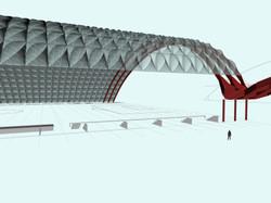 Generative Geometry Roof