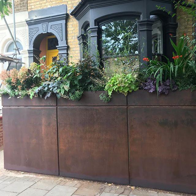 steel storage and garden