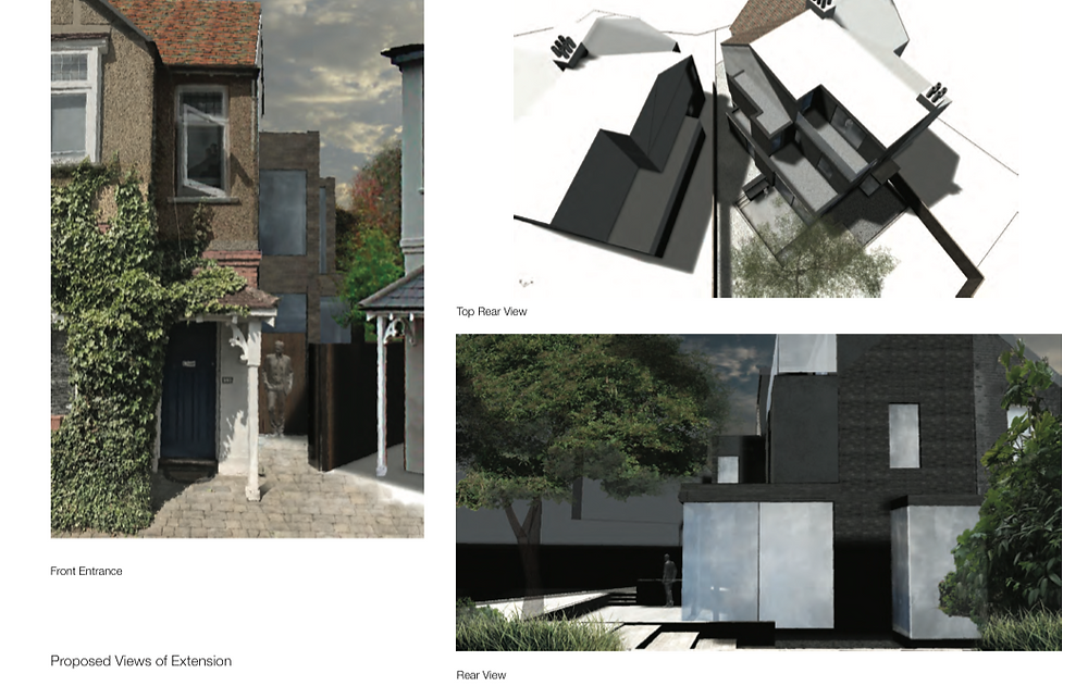 Kew Extension Planning Approval
