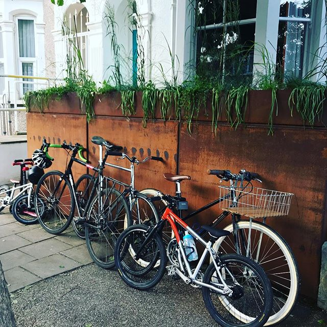Bikebox storage for victorian terrace
