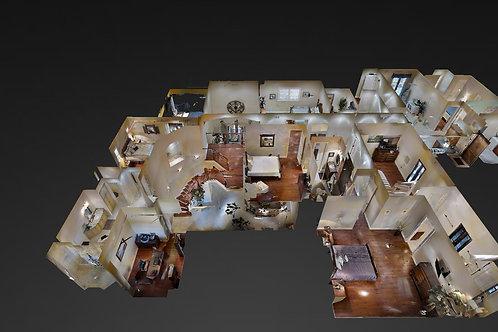 3D Virtual Tour per sq-ft ENTER EXACT LIVING SQFT OF PROPERTY