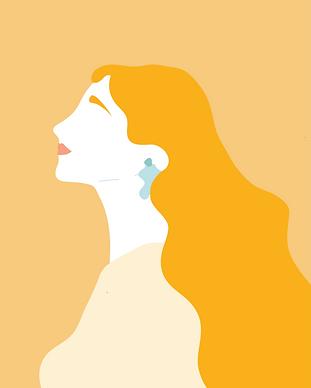 mujer ilustración - Yo Soy Amarilla