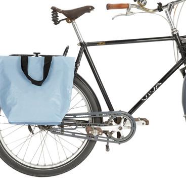 Fahrradtasche Cobag blau matt