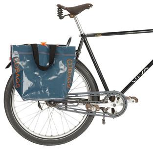 Fahrradtasche Cobag petrol