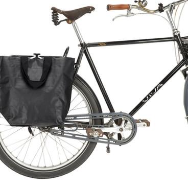 Fahrradtasche Cobag schwarz matt