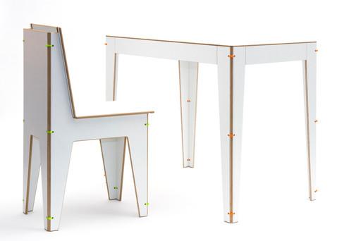 Falttisch und Stuhl Hermann + Luise
