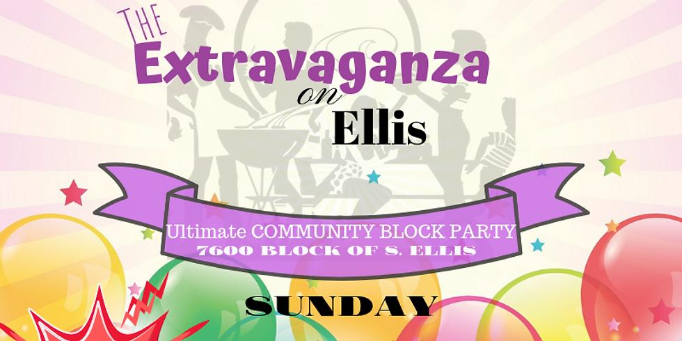 Extravaganza on Ellis Ultimate Block Party