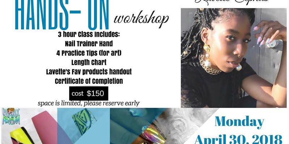 Hands On Workshop with Lavette Chephus