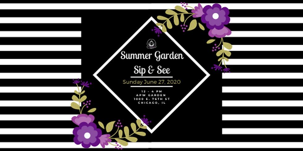 APW Garden Sip & See
