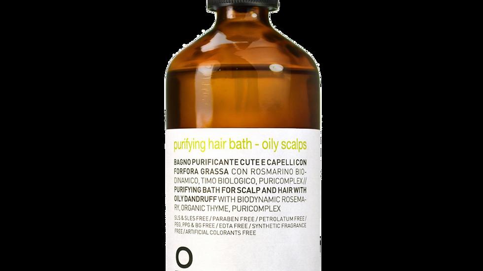 purifying hair bath - oily scalps