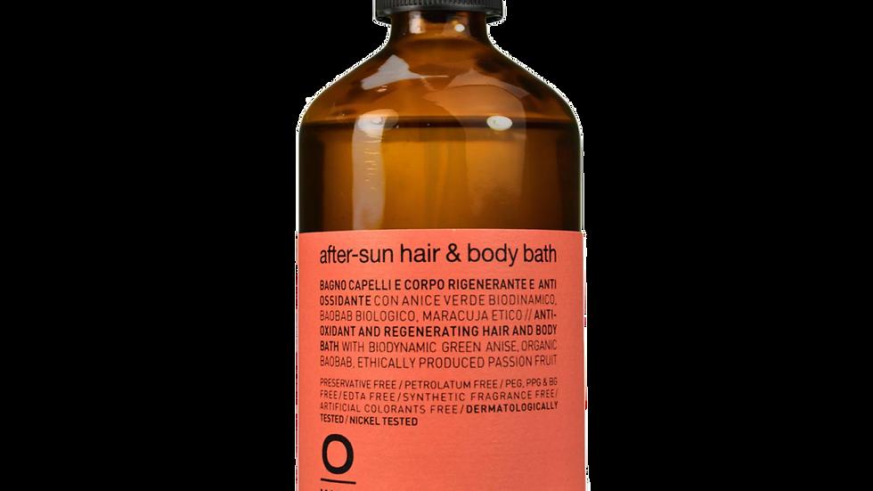 after-sun hair & body bath
