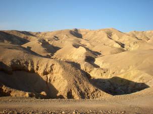 Sand Dunes in Israel