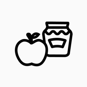 Apple and Honey Jar