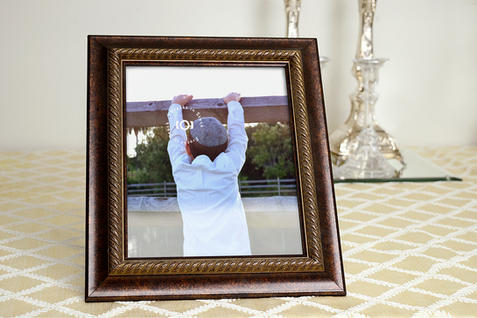Picture Frame Mockup by Shabbos Candles, Left View | $6.99