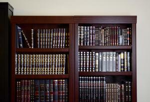 Sefarim shelves
