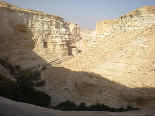 Mountains and Cliffs in the Negev, Israel