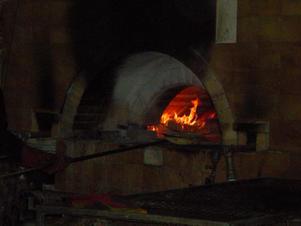 Matzah-baking oven