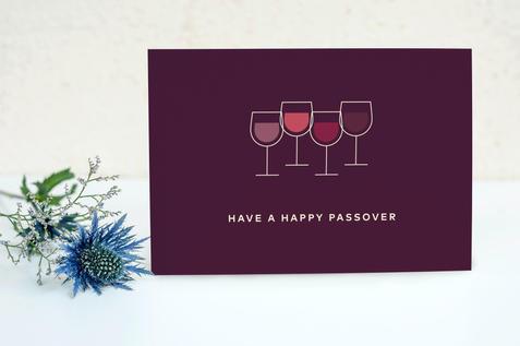 Pesach Wine Card | $27.99