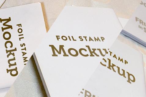 Bundle of Staged Benchers Foil Stamp Mockups  |  $16.78