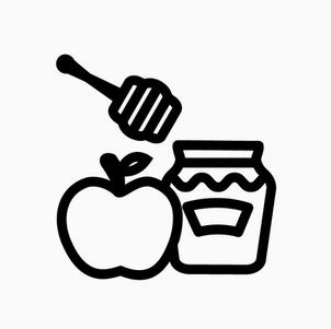 Apple and Honey Stick