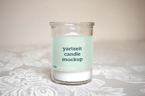 Single Yartzeit Candle Label  |  $6.99