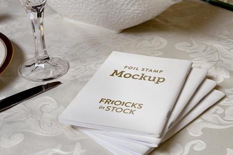 Bencher Stack on Table Foil Stamp | $6.99