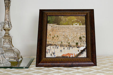 Picture Frame Mockup by Shabbos Candles, Front View | $6.99