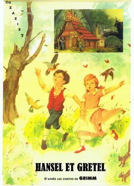 Hansel et Gretel. Conte de Grimm