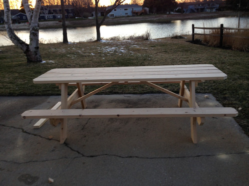 standard picnic tables - Picnic Tables For Sale