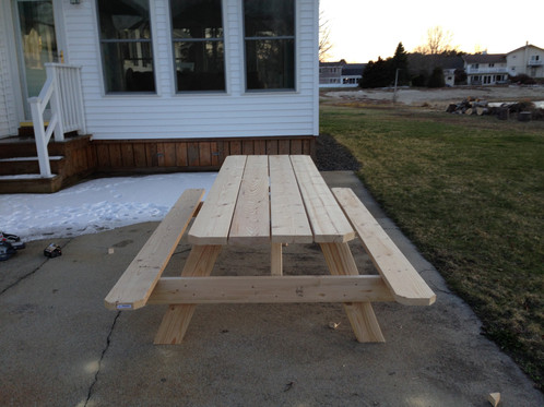 Standard picnic tables picnic tables for sale in maine standard picnic tables watchthetrailerfo