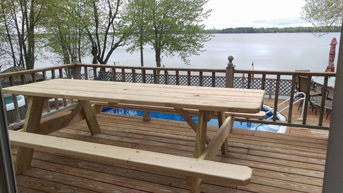 quality mainemade picnic table each table is handcrafted from maine spruce made to order and assembled with the highest quality material available - Picnic Tables For Sale