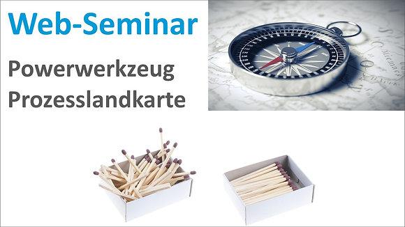 Web-Seminar Aufzeichnung: Powerwerkzeug Prozesslandkarte