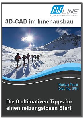Kostenloses E-Book: 3D-CAD im Innenausbau