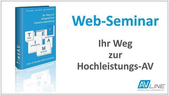 Web-Seminar Aufzeichnung: Ihr Weg zur Hochleistungs-AV