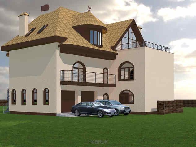 Fairy-tale house for Dana