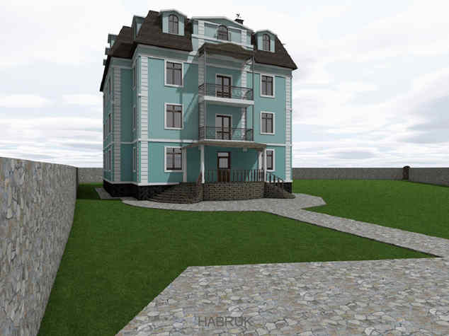large private house