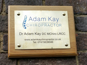Grand opening of Adam Kay Chiropractor in Radlett