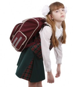 Back pack pain