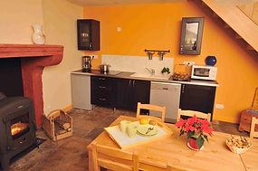 Cuisine chambre d'hote Langres Eponine
