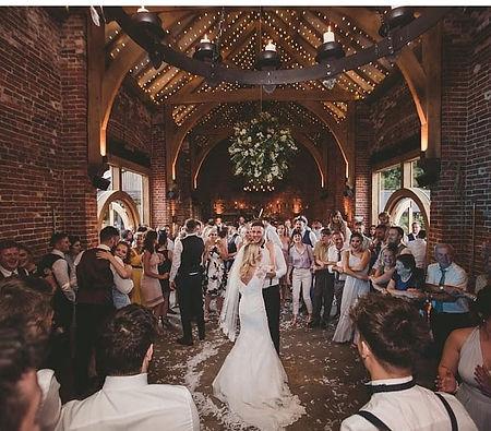 BRIDE AND GROOM - FLOWER BALL. HAZEL GAP