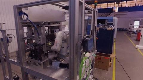 Célgép építés robotok felhasználásával