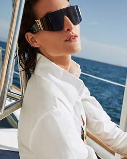 Fendi-Rimless-Wrap-Shield-Sunglasses