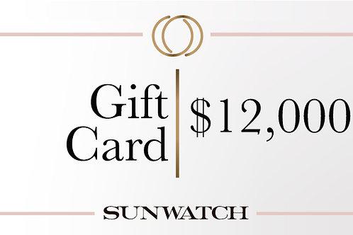 Gift Card $12,000 MXN.