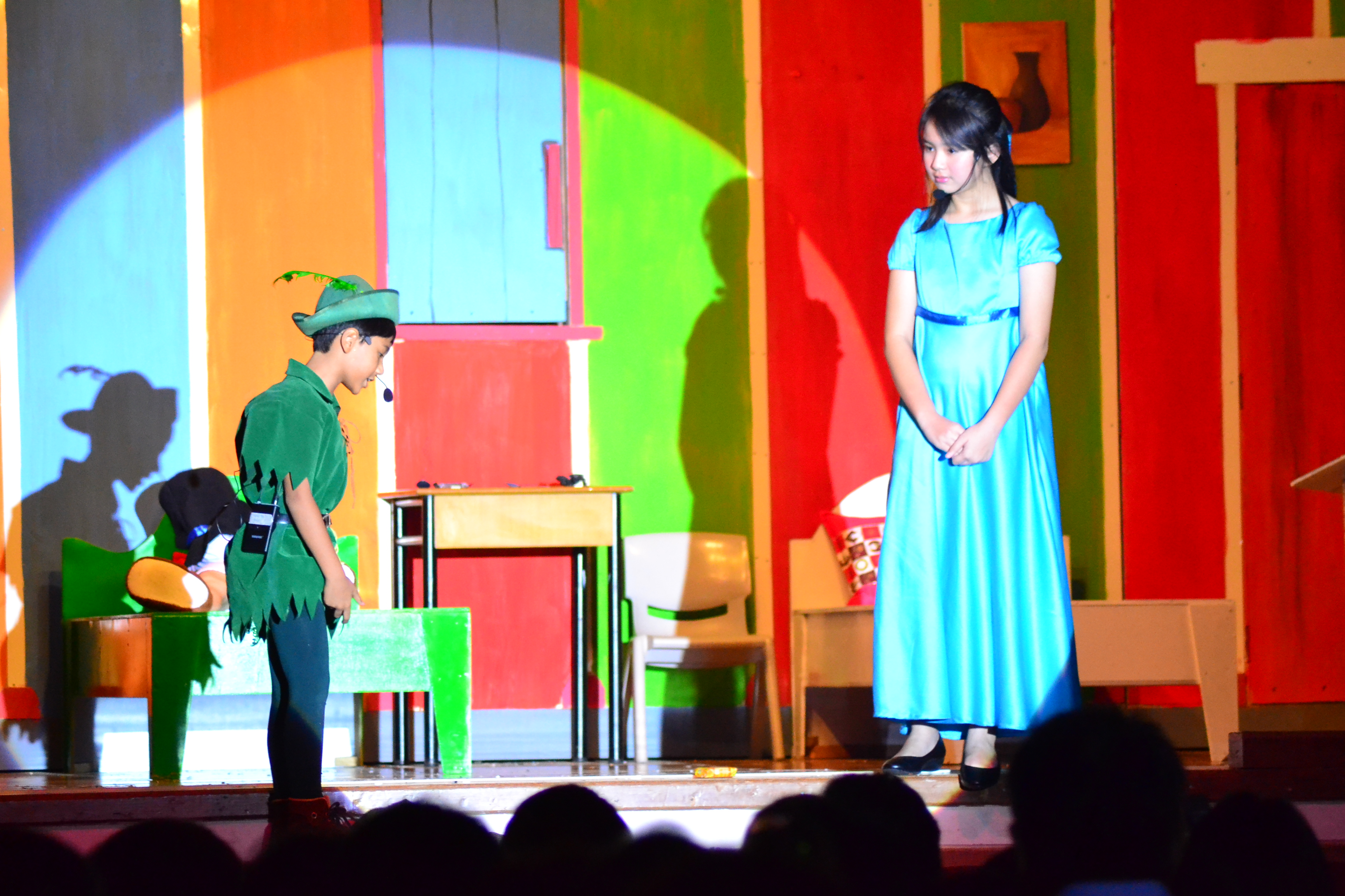 Primary Auditorium - Peterpan Drama