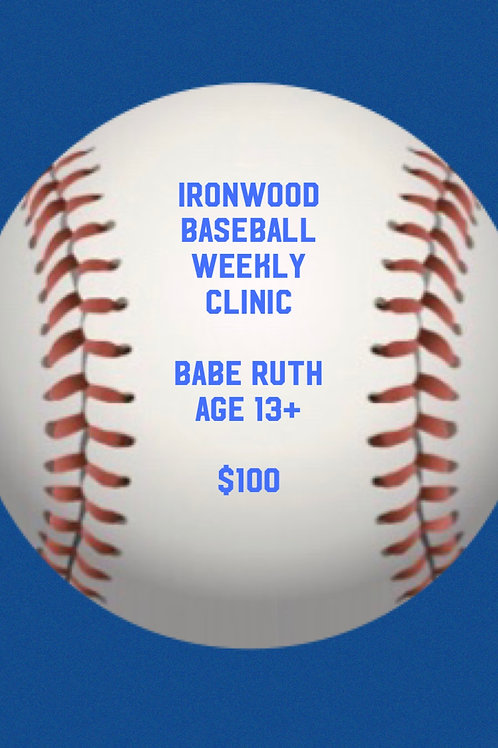 BB Clinic PM Group Babe Ruth 14+