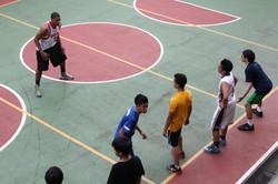 Secondary Basketball court -